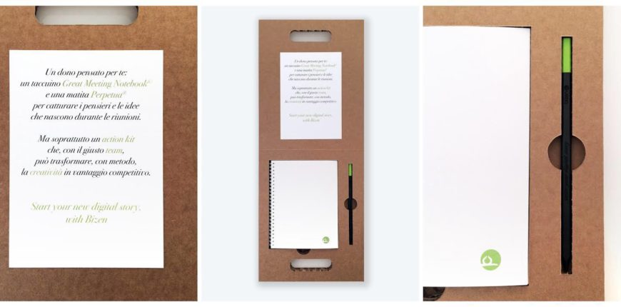 Great meetings notebook personalizzato